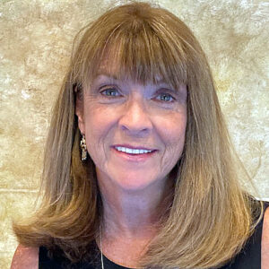 Maureen Gebhardt — our donor and communication database consultant